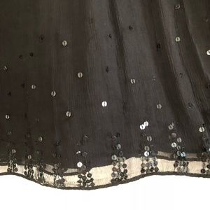 Silk JCrew skirt